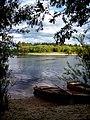 Река Унжа, вид с берега у д. Михаленино.jpg
