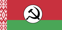Belarusian National Bolshevik flag
