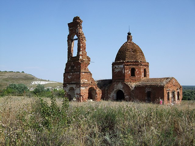 Church of St. Nicholas in the village of Abrosimovo