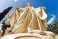 פסל מריה כנסיית הבשורה נצרת.jpg