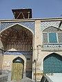 سادگی در عین شاهکار معماری اسلامی در مسجد سرخی اصفهان با رنگ و طرحی متفاوت.jpg