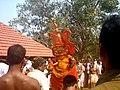 'തെയ്യം', കക്കുന്നത്ത് ഭഗവതി ക്ഷേത്രം.JPG