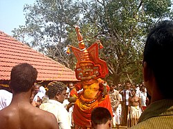 Theyyam at Anjarakkandy
