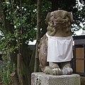 忍陵神社の狛犬 四條畷市岡山2丁目 2012.12.17 - panoramio.jpg