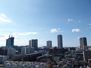 Minami-ku, Saitama - Minami-ku skyline near Musashi-Urawa Station