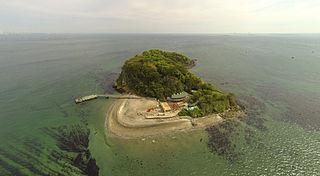 Sarushima a small island located off Yokosuka, Kanagawa in Japan