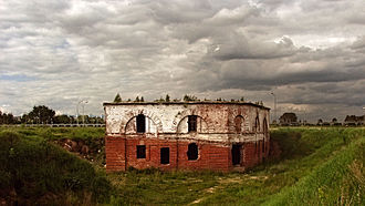 Babruysk fortress - An old section of the Babruysk Fortress
