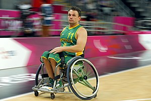 Tige Simmons - Image: 010912 Tige Simmons 3b 2012 Summer Paralympics