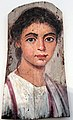0125 Altes Museum Berlin Mummy Portrait of a boy with juvenile curl of hair anagoria.jpg