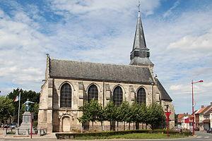 Aix-Noulette - The church of Aix-Noulette