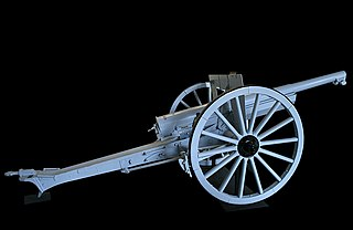 Canon de 75 modèle 1897 Regimental artillery field gun