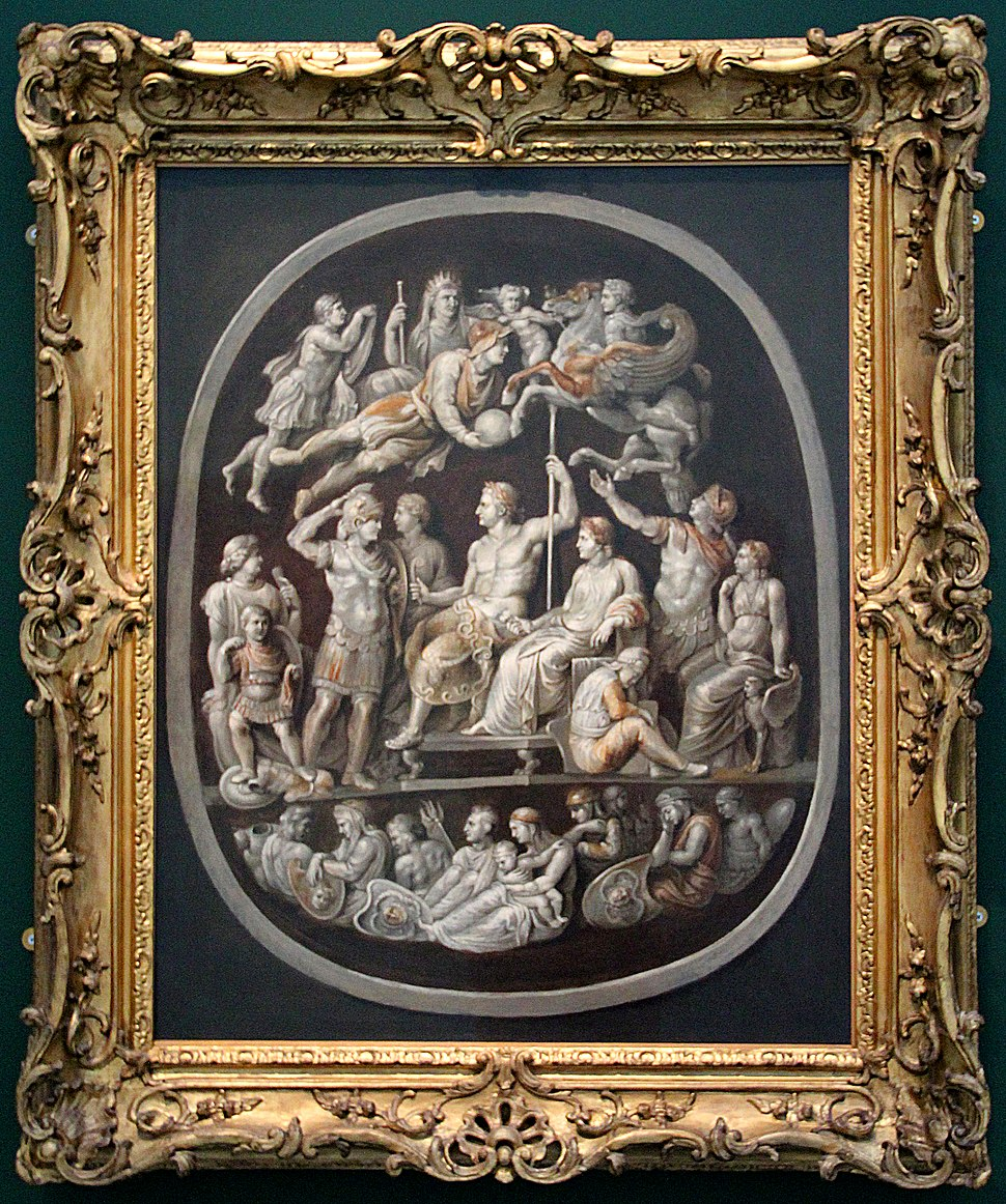 0 Gemma Tiberiana - Rubens - Ashmolean Museum - WA1989.74