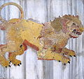 0 Lion - Méridienne de S. Maria degli Angeli.JPG