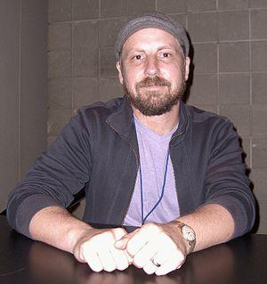 Tomm Coker - Coker at the New York Comic Con in Manhattan, October 9, 2010.