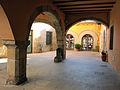 103 Plaça del Bo-bo (Monistrol de Montserrat), porxo.JPG