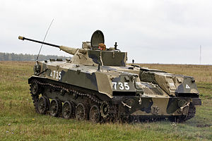 BMD-2 - Rear view of BMD-2