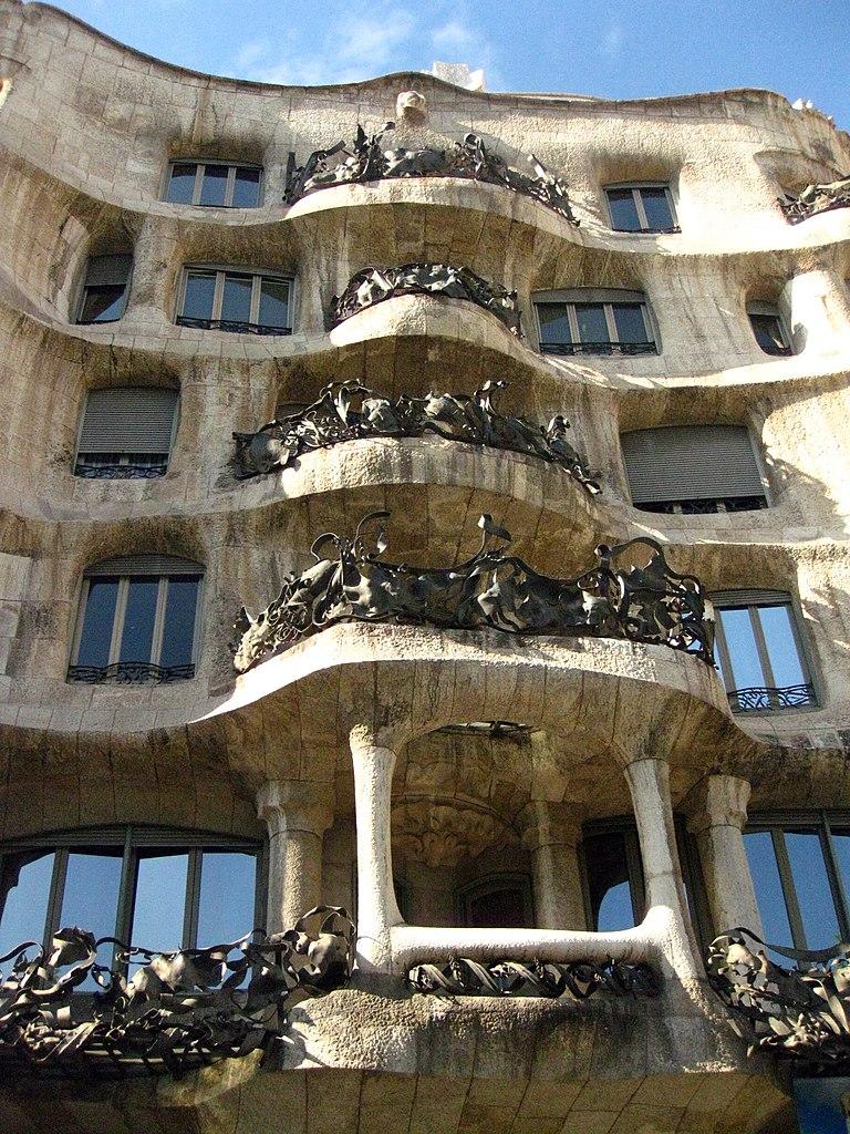 File 108 la pedrera casa mil jpg wikimedia commons - Casa mila la pedrera ...