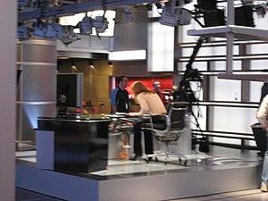 MSNBC - MSNBC's studio in NYC