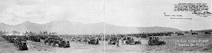 Hawaiian Division - Image: 11th Field Artillery Brigade at Schofield Hawaii 1924