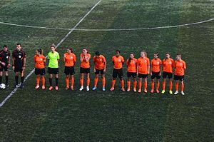 1207 Antalya Spor - 1207 Antalya Muratpaşa Belediyespor team in the 2015–16 season's away match against Kireçburnu Spor.
