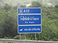 14-06-2017 Designation sign, A22 motorway, Paderne, Albufeira (1).JPG