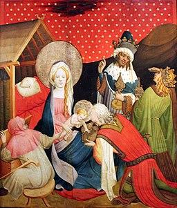 1426 Meister Francke Die Anbetung der Könige anagoria