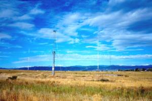 WWV (radio station) - WWV's 15 MHz antenna
