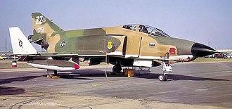 15th Attack Squadron - 15th Tactical Reconnaissance Squadron McDonnell RF-4C-19-MC Phantom 63-7751 Kadena AB, Okinawa, 1975