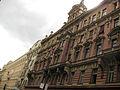 167 Hybernská Ulice, a l'esquerra els hotels Kempinski i Central.jpg