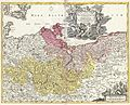 1720 Homann Map of Brandenberg and Pomerania, Germany - Geographicus - Brandenburgici-homann-1720.jpg
