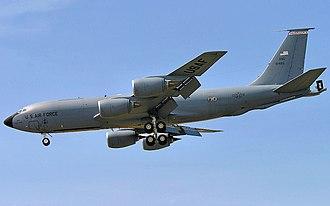 173d Air Refueling Squadron - 173d Air Refueling Squadron - Boeing KC-135R Stratotanker serial no. 59-1495