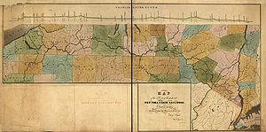 Erie Railroad - 1834 plan