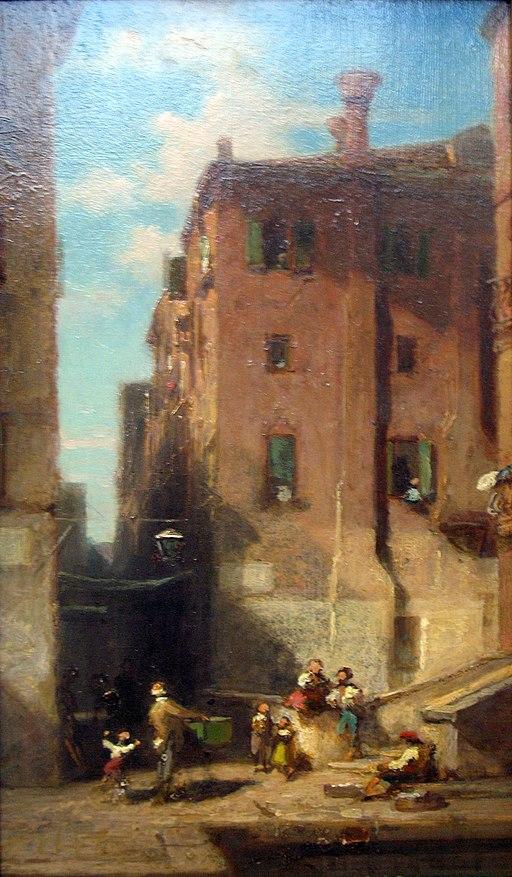 1850 Spitzweg Venetian Street anagoria