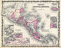 1862 Johnson Map of Central America - Geographicus - CentralAmerica-johnson-1862.jpg