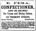 1864 Fera confectioner BostonDirectory.png