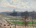1899 Camille Pissarro Tuilerien Winternachmittag anagoria.JPG