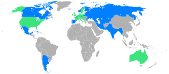 Cuba at the 1900 Summer Olympics - Countries which participated in the 1900 Summer Olympics