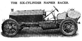 D. Napier & Son - 1904 Napier 6-cylinder race car
