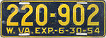 1954 West Virginia license plate.jpg