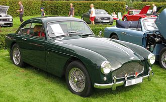 Aston Martin DB Mark III - 1957 Aston Martin DB 2/4 Mark III