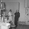 1957 Visite du ministre de l'agriculture Mr ANDRE DULIN au CNRZ-53-cliche Jean Joseph Weber.jpg