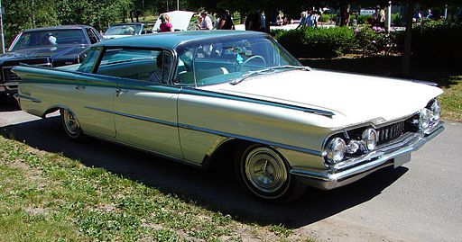 1959 Oldsmobile 98 front