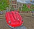 1960's E-type Jaguar at Historic Boneyfiddle District (7944552530).jpg