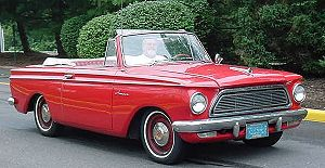 Rambler American - Second generation - 1962 convertible