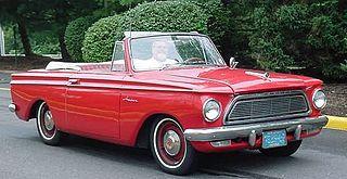 Rambler American Compact car produced by American Motors Corporation