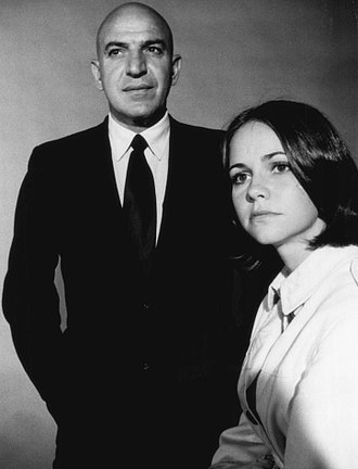 Telly Savalas - Telly Savalas and Sally Field, 1971