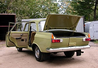 Moskvitch 412 - Izh/Moskvitch-412 rear view