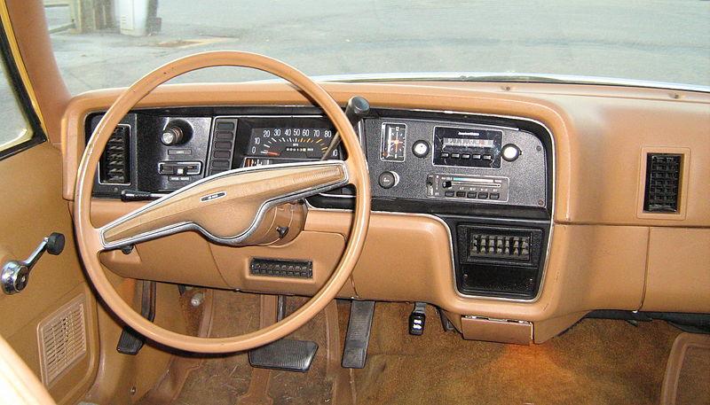 Old Eagle Wood Panel Car