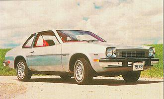 Chevrolet Monza - Image: 1976 Monza Coupe