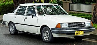 Mazda Capella - Facelift Mazda 626 sedan (Australia)